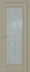 Межкомнатная дверь Профильдорс 92u Дарк Вайт Гравировка 1