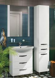 Мебель для ванной Акватон Ария 65 Н белый