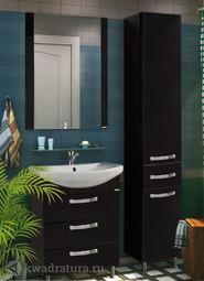 Мебель для ванной Акватон Ария 65 Н черный глянец