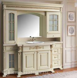 Мебель для ванной Atoll Людовик бежевый