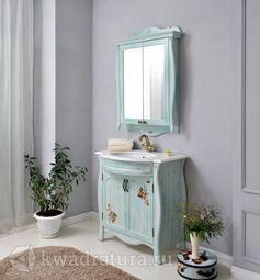 Мебель для ванной Atoll Ривьера голубой
