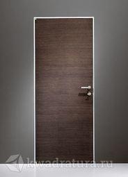 Скрытая межкомнатная дверь ProfilDoors 1Z Венге Кроскут
