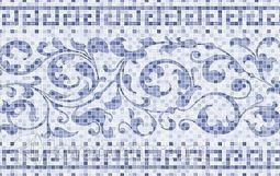 Декор Нефрит керамика Бильбао синий 25х40