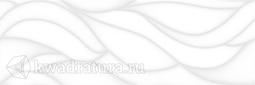Настенная плитка Ceramica Classic Sigma рельеф белая 20х60