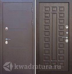 Входная дверь Феррони Изотерма медный антик венге