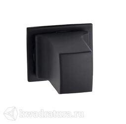 Завертка Fimet 243 WC F57 для квадратной минимальной розетке черная Velvet touch