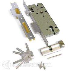 Механизм под ключ 1 плоский ригель Archi хром