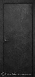 Межкомнатная дверь Краснодеревщик Темный Камень PVC