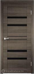 Межкомнатная дверь VellDoris Лайм 6 серый поперечный