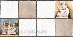 Настеная плитка Нефрит Керамика Ланч серый 20х40 см