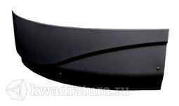 Панель фронтальная Graciosa 150R черная