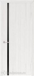 Межкомнатная дверь Платан 1 ДО Дуб белый жемчуг