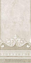 Нефрит керамика Декор полоса Преза табач 20х40
