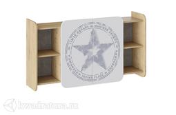 Шкаф навесной с полками Мегаполис
