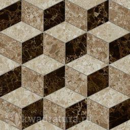 Керамогранит Lasselsberger Скольера коричневая геометрия 45х45 см