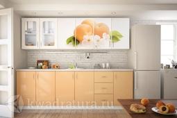 Кухонный набор Селена №28 Персик 2400 мм