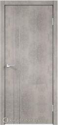 Межкомнатная дверь VellDoris TECHNO М2 Муар светло-серый