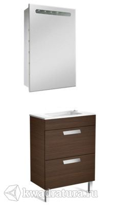Набор мебели для ванной Roca Debba 60 венге